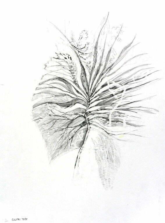Leaf 50x65cm