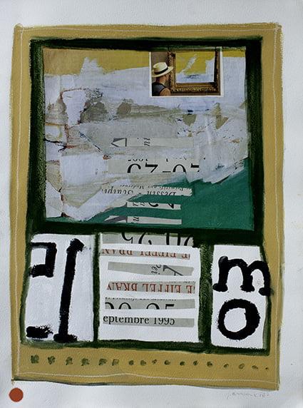 Tableau d'une exposition VENDU